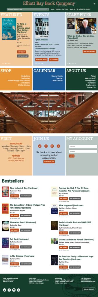 EBBC Original Home Page