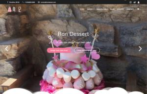 Ran Dessert Web Designed by Gloria Zhang
