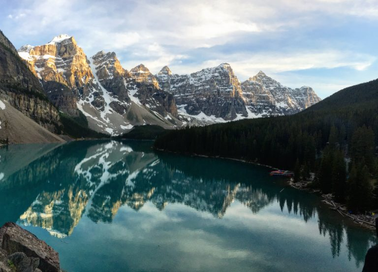 Moraine Lake by Gloria Zhang